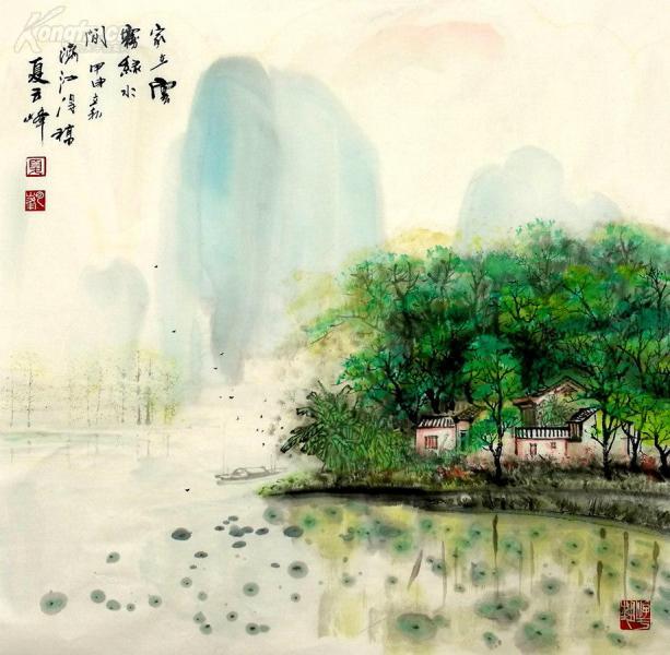 當代中年畫家夏云峰作品正在上拍,歡迎大家光臨
